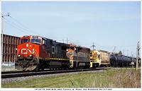 CN 331 2640 BCOL 4602 T&P 1351 Woodstock Ont 5-2-2013