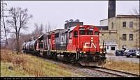 CN 4728 CN 4707 Philip St London Ontario 12-12-2014