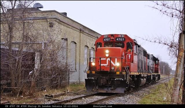 CN 477 CN 4728 Philip St London Ontario 12-12-2014