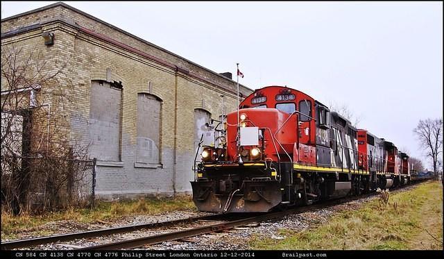 CN 584 Philip Street LOndon Ontario 12-12-2014