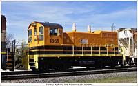 T&P 1351 CN 331 Woodstock Ont 5-2-2013